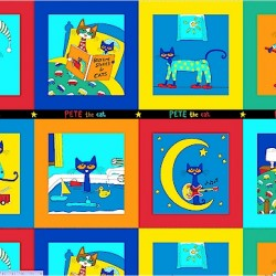 PETE THE CAT PANEL (60CM)