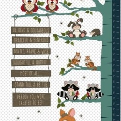 TO BE OR NOT TO BE GROWTH CHART (60CM)