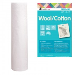 Matilda's Batting - 60/40 wool/Cotton
