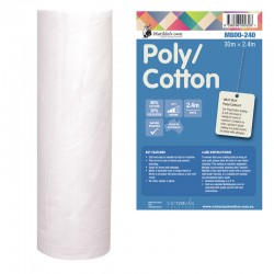 Matilda's Batting Cotton/Poly-80/20 Cot/Poly