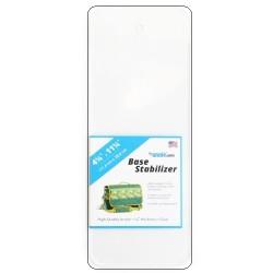 "Base Stabilizer Sheet - Clear Acrylic (4.25""x11.25"")"