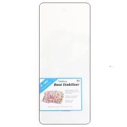 "Base Stabilizer Sheet - Clear Acrylic (6""x14.75"")"
