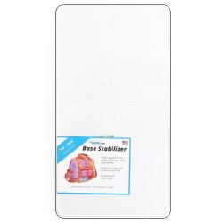 "Base Stabilizer Sheet - Clear Acrylic (7.75""x14.75"")"