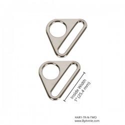 "Triangle Ring-Nickel -1""-2pk"