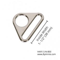 "Triangle Ring-Nickel -1.5""-2pk"
