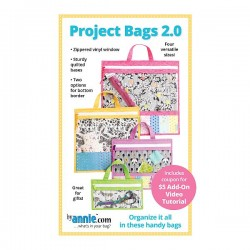 Pattern -  PROJECT BAGS 2.0 (4xSizes)