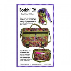 Pattern -  BOOKIN IT! SATCHEL