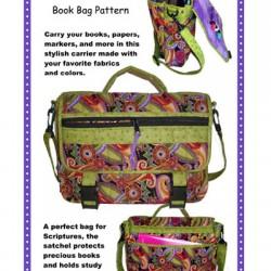 Pattern -  BOOKIN IT! SATCHEL