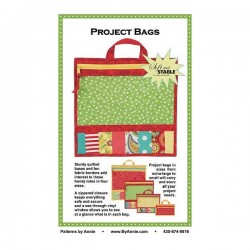 Pattern -  PROJECT BAGS (4xSizes)