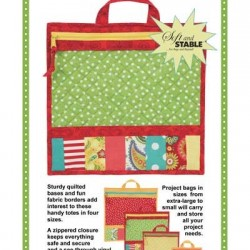 PROJECT BAGS (4xSizes)-Pattern