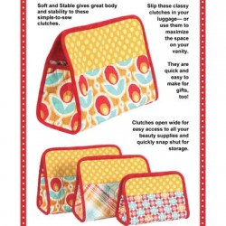Pattern -  COSMETICS CLUTCHES