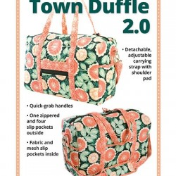 GET OUT OF TOWN DUFFLE 2.0-Pattern