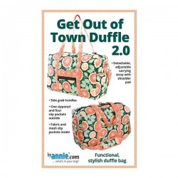 Pattern -  GET OUT OF TOWN DUFFLE
