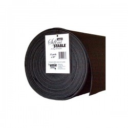 "Soft & Stable - Roll (58""x15yd) - BLACK"