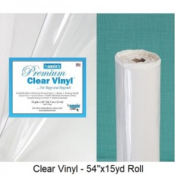 "Clear Vinyl Roll - 54""x15yd"