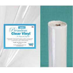Clear Vinyl Roll -15ydX54inch