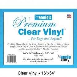 """Clear Vinyl Precut - (54""""x16"""")"""