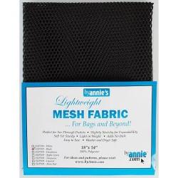 "Mesh Fabric (18""x54"") - BLACK"