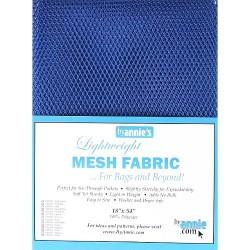 "Mesh Fabric (18""x54"") - BLAST BLUE"