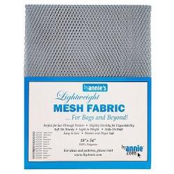 "Mesh Fabric (18""x54"") - PEWTER"