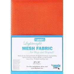 "Mesh Fabric (18""x54"") - PUMPKIN"