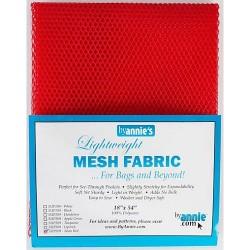 """Mesh Fabric (18""""x54"""") - RED"""