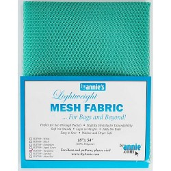 "Mesh Fabric (18""x54"") - TURQUOISE"