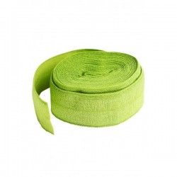 Foldover Elastic (20mmx2yd) - APPLE GREEN
