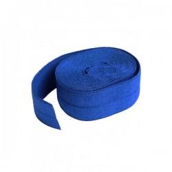 Foldover Elastic (20mmx2yd) - BLAST BLUE