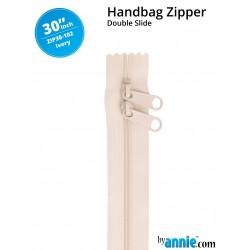 "Zipper DS (30"") - IVORY"