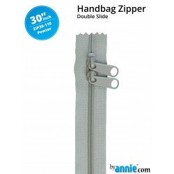 "Zipper DS (30"") - PEWTER"