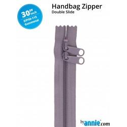 "Zipper DS (30"") - GUNMETAL"