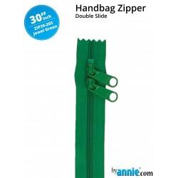 """Zipper DS (30"""") - JEWEL GREEN"""