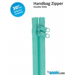 "Zipper DS (30"") - TURQUOISE"