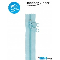 """Zipper DS (30"""") - ROBBIN'S EGG"""