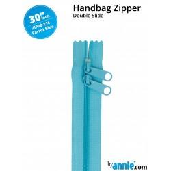 ZIPPER-30-PARROT BLUE-DS