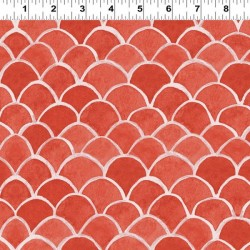 Fish Scales - RED