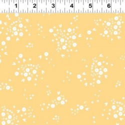 Small Floral - LIGHT GOLD