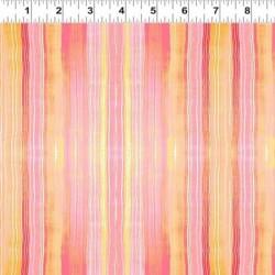 Watercolor Stripe - ORANGE