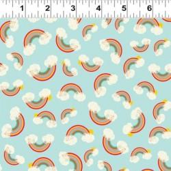 Rainbows - LIGHT AQUA