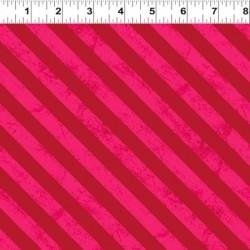 Diagonal Stripes - RED