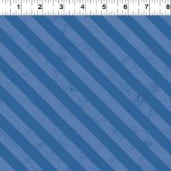 Diagonal Stripes - DENIM