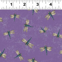 Dragonflies - PURPLE