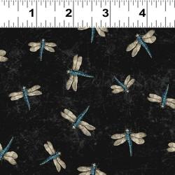 Dragonflies - BLACK