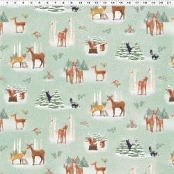 Forest Toile - MINT