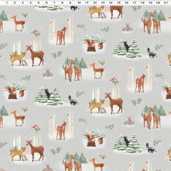Forest Toile - LT TAUPE