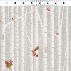 Birch Tree Stripe - LT TAUPE