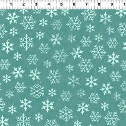 Snowflakes - LT EMERALD