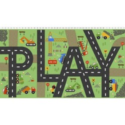 Panel - Play Zone 60cm - GREEN