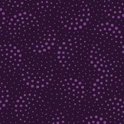 Half Moon Dots - DARK EGGPLANT